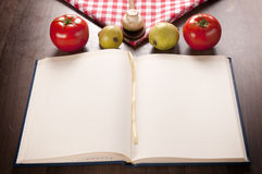 Cookbook and food Stock Photos