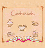 Cookbook -  illustration Stock Photos