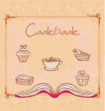 Cookbook -  illustration. Vintage style Stock Photos
