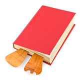 Cookbook and kitchenware Royalty Free Stock Photo