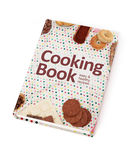 Cookbook. On white background Stock Photo