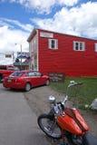 Cooke stad, Montana Arkivfoto