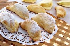 Cooked apple pie Stock Image