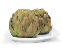 Cooked artichokes Royalty Free Stock Image