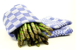 Cooked asparagus Royalty Free Stock Photo
