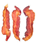 Cooked Bacon Strips Royalty Free Stock Images