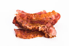 Cooked Bacon Strips Stock Image