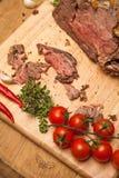 Cooked Beef Roast Stock Photo