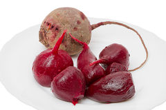 Cooked beetroot Royalty Free Stock Photo