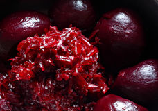 Cooked beetroot Royalty Free Stock Image