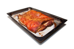 Cooked belly pork Royalty Free Stock Image