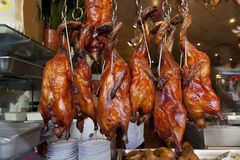 Cooked Birds at Market Royalty Free Stock Images