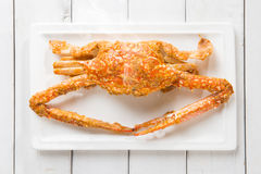 Cooked blue crab Stock Photo