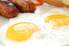 Cooked breakfast Stock Photos