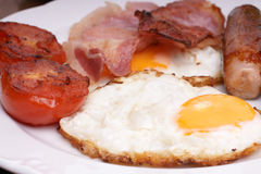 Cooked breakfast Royalty Free Stock Photography