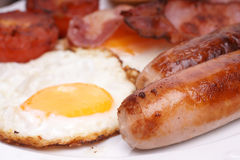 Cooked breakfast Royalty Free Stock Photo
