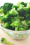 Cooked Broccoli Stock Photography