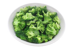 Cooked broccoli Royalty Free Stock Photos