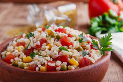 Cooked bulgur Royalty Free Stock Image