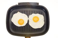 Cooked Bull Eye Egg Royalty Free Stock Image