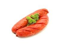 Cooked cheese kransky hotdog Stock Photography