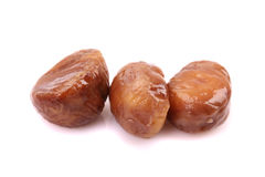 Cooked chestnut fruit Stock Photography