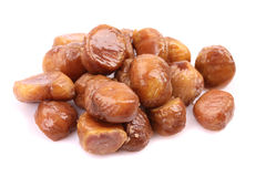 Cooked chestnut fruit Stock Image