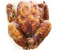 Cooked Chicken for Christmer Royalty Free Stock Image