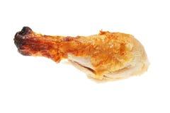 Cooked chicken leg Stock Photos