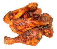 Cooked Chicken Portions Stock Image