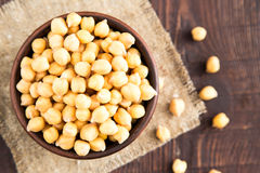 Cooked Chickpeas on a bowl. Chickpeas is nutritious food. Health Stock Photos