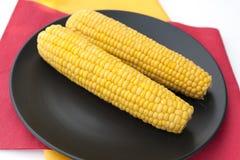 Cooked corn Stock Photos