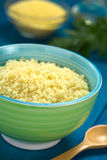 Cooked Couscous Stock Image