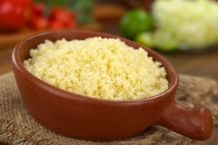 Cooked Couscous Royalty Free Stock Images