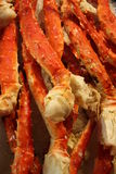 Cooked crab legs Stock Photos