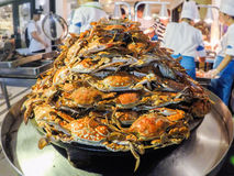 Cooked crabs Stock Photo
