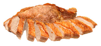 Cooked Duck Breast Meat Royalty Free Stock Images