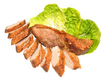 Cooked Duck Breast Meat Royalty Free Stock Image