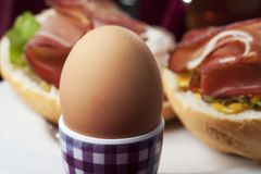 Cooked egg Royalty Free Stock Photos