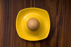 Cooked egg for breakfast Royalty Free Stock Images