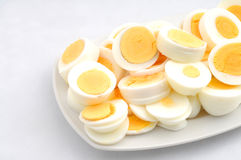Cooked Eggs Royalty Free Stock Photography