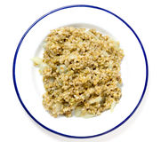 Cooked freekeh seen from above Royalty Free Stock Photography