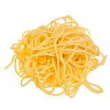 Cooked, fresh spaghetti. Royalty Free Stock Images