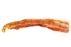 Cooked Greasy Bacon Royalty Free Stock Images