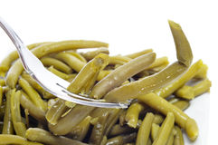 Cooked green beans Stock Images