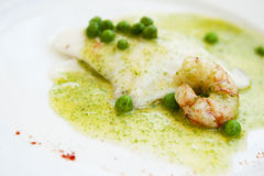 Cooked hake Stock Photo