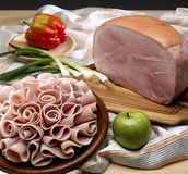 Cooked ham Royalty Free Stock Photography