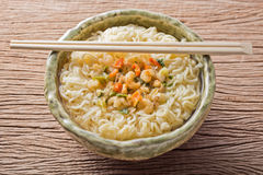 Cooked instant noodle Royalty Free Stock Photography