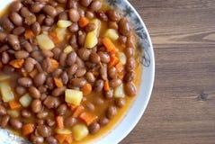 Cooked Kidney Beans : Barbunya pilaki Royalty Free Stock Photography