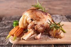 Cooked lamb chop Stock Images
